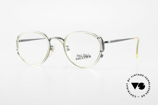 Jean Paul Gaultier 55-3271 Panto 90's Designer Glasses Details