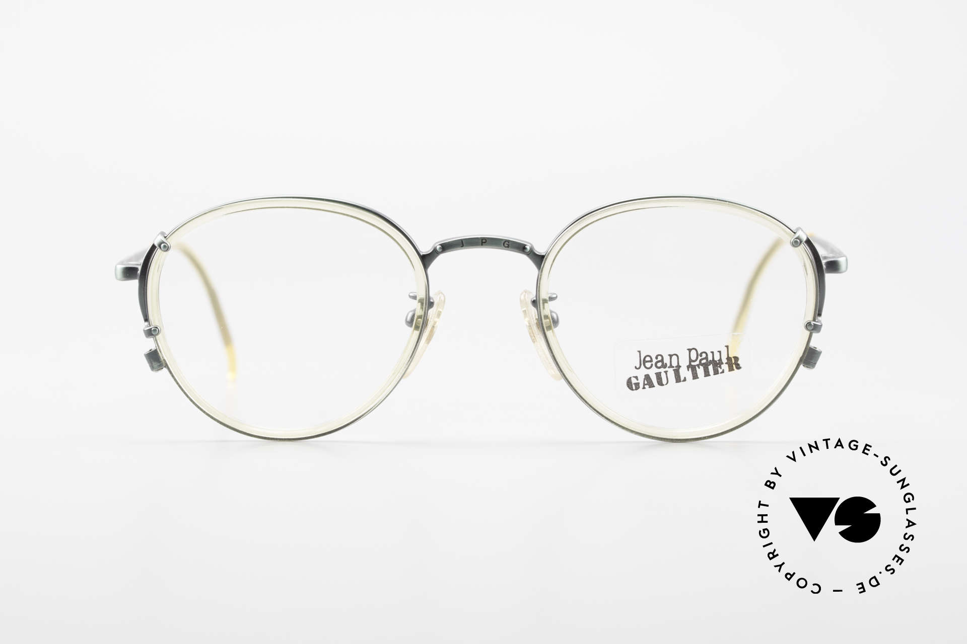 Jean Paul Gaultier 55-3271 Panto 90's Designer Glasses, really rare designer-piece from the early 90's; vertu!, Made for Men and Women