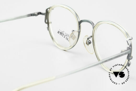 Jean Paul Gaultier 55-3271 Panto 90's Designer Glasses, demo lenses can be replaced with optical (sun) lenses, Made for Men and Women