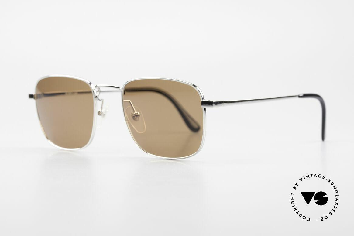 "Helmut Lang 21-0004 Titanium Sunglasses Japan, truly iconic ""Insider Sunglasses"" for all avant-gardist, Made for Men"