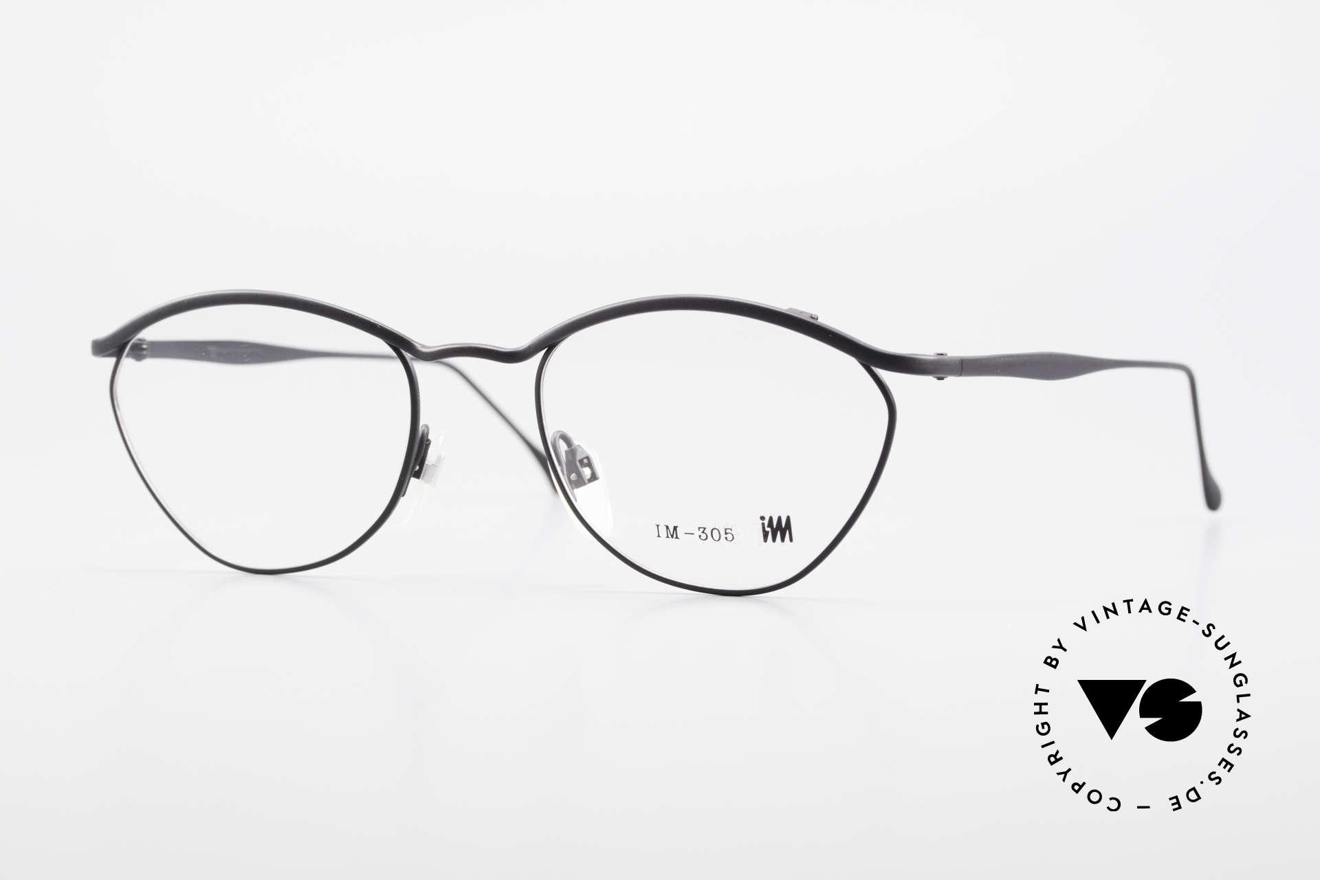 Miyake Design Studio IM305 Insider Eyeglasses All Titan, interesting ALL TITAN eyeglasses from 1992/93, Made for Men and Women