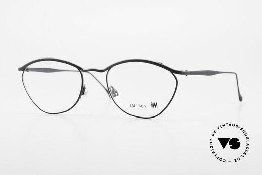 Miyake Design Studio IM305 Insider Eyeglasses All Titan Details