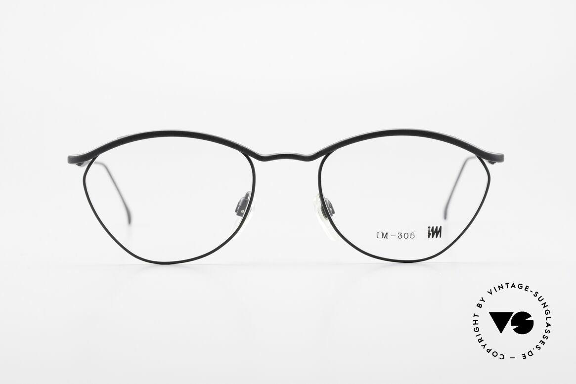 Miyake Design Studio IM305 Insider Eyeglasses All Titan, true INSIDER eyeglasses without big branding, Made for Men and Women
