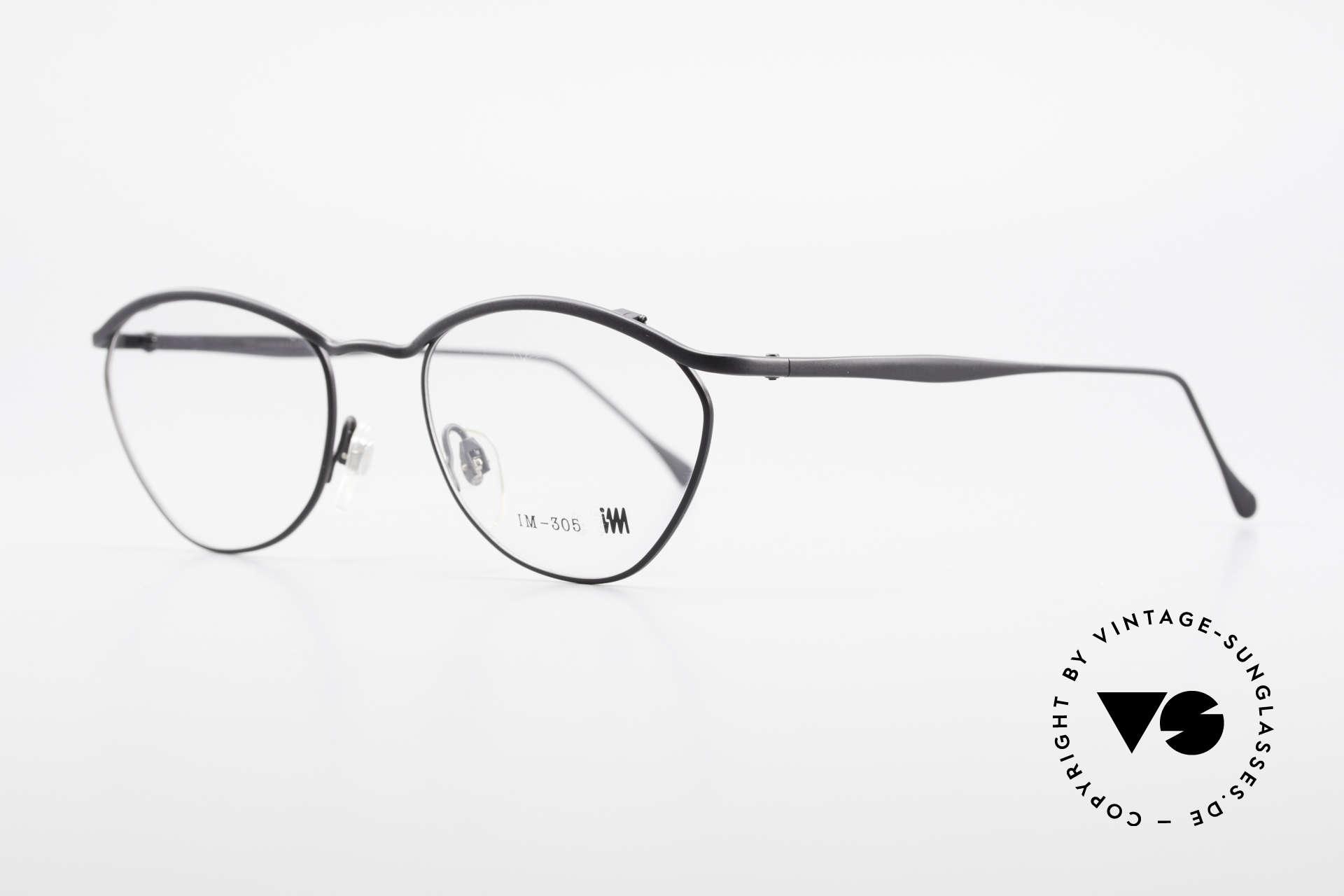 Miyake Design Studio IM305 Insider Eyeglasses All Titan, MIYAKE Design Studio = Issey Miyake = I.M. 305, Made for Men and Women