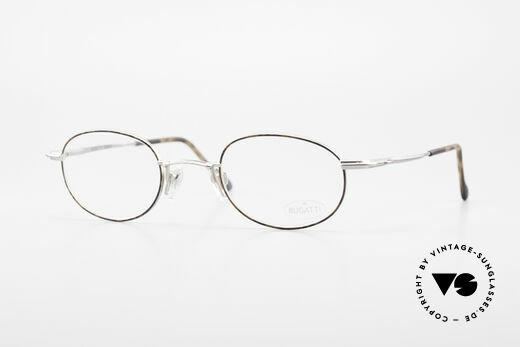 Bugatti 23547 Rare 90's Titanium Eyeglasses Details
