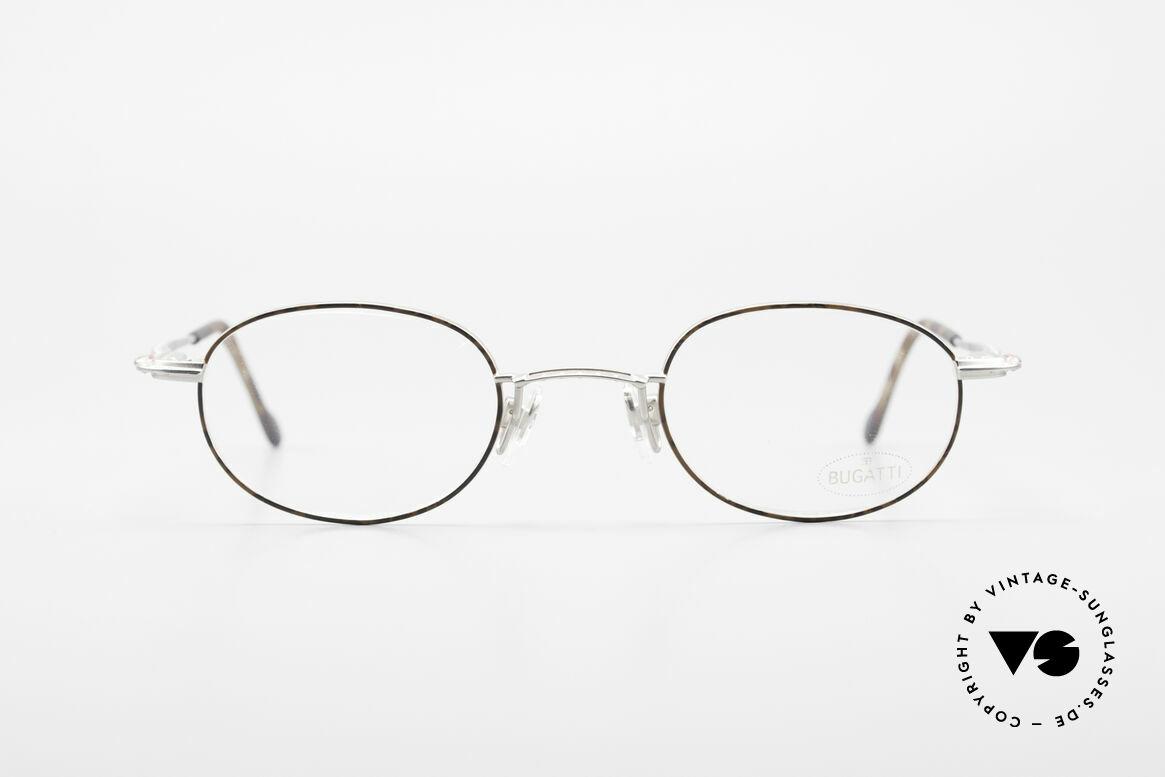 Bugatti 23547 Rare 90's Titanium Eyeglasses, high-end craftsmanship & materials (titanium temples), Made for Men and Women