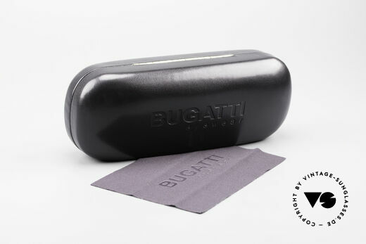 Bugatti 23547 Rare 90's Titanium Eyeglasses, NO retro glasses, but an authentic old original from '97, Made for Men and Women
