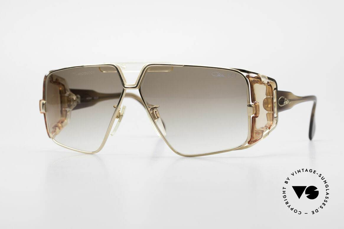 Cazal 951 West Germany Original Cazal, legendary Cazal VINTAGE sports sunglasses, Made for Men