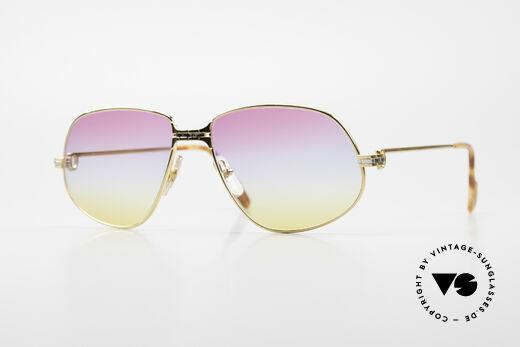 Cartier Panthere G.M. - L Sunrise Lenses With Gucci Case Details