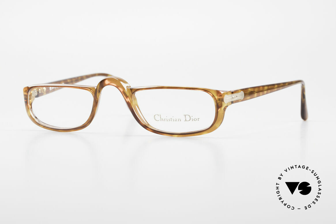 Christian Dior 2075 Reading Glasses Optyl Large, vintage DIOR Monsieur reading eyeglasses from 1985, Made for Men and Women