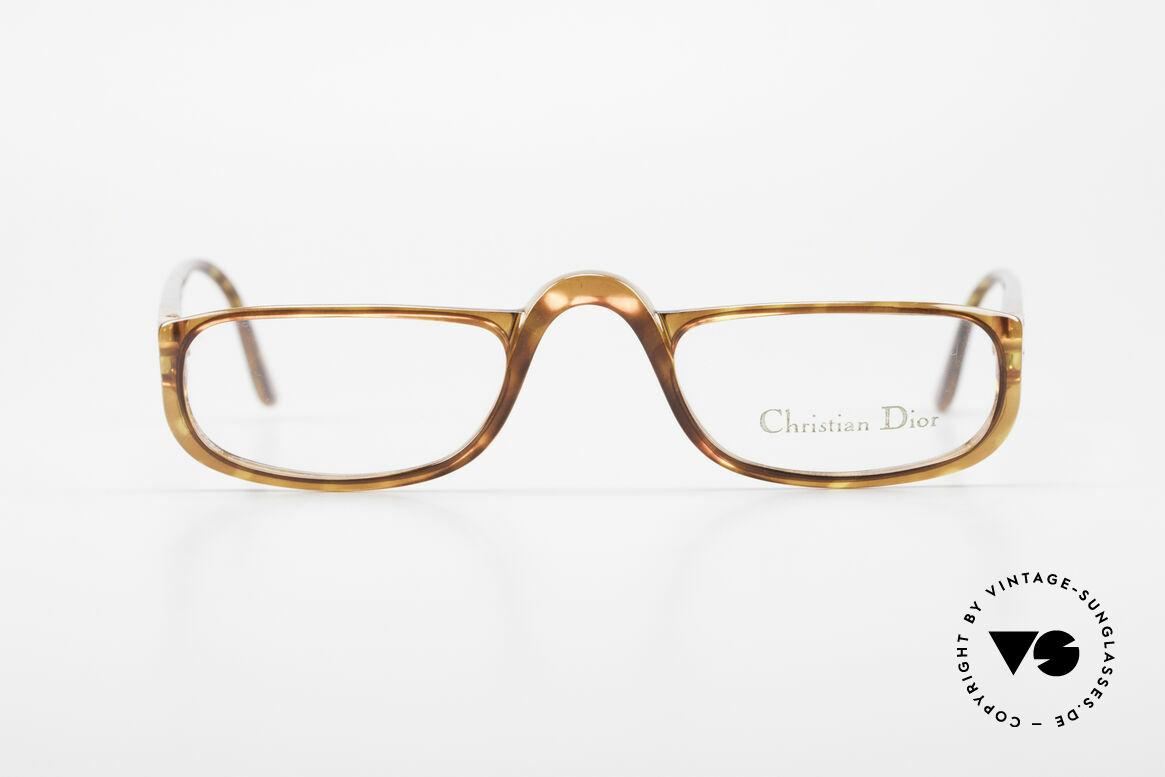 Christian Dior 2075 Reading Glasses Optyl Large, lightweight half-frame design; ergonomically correct, Made for Men and Women