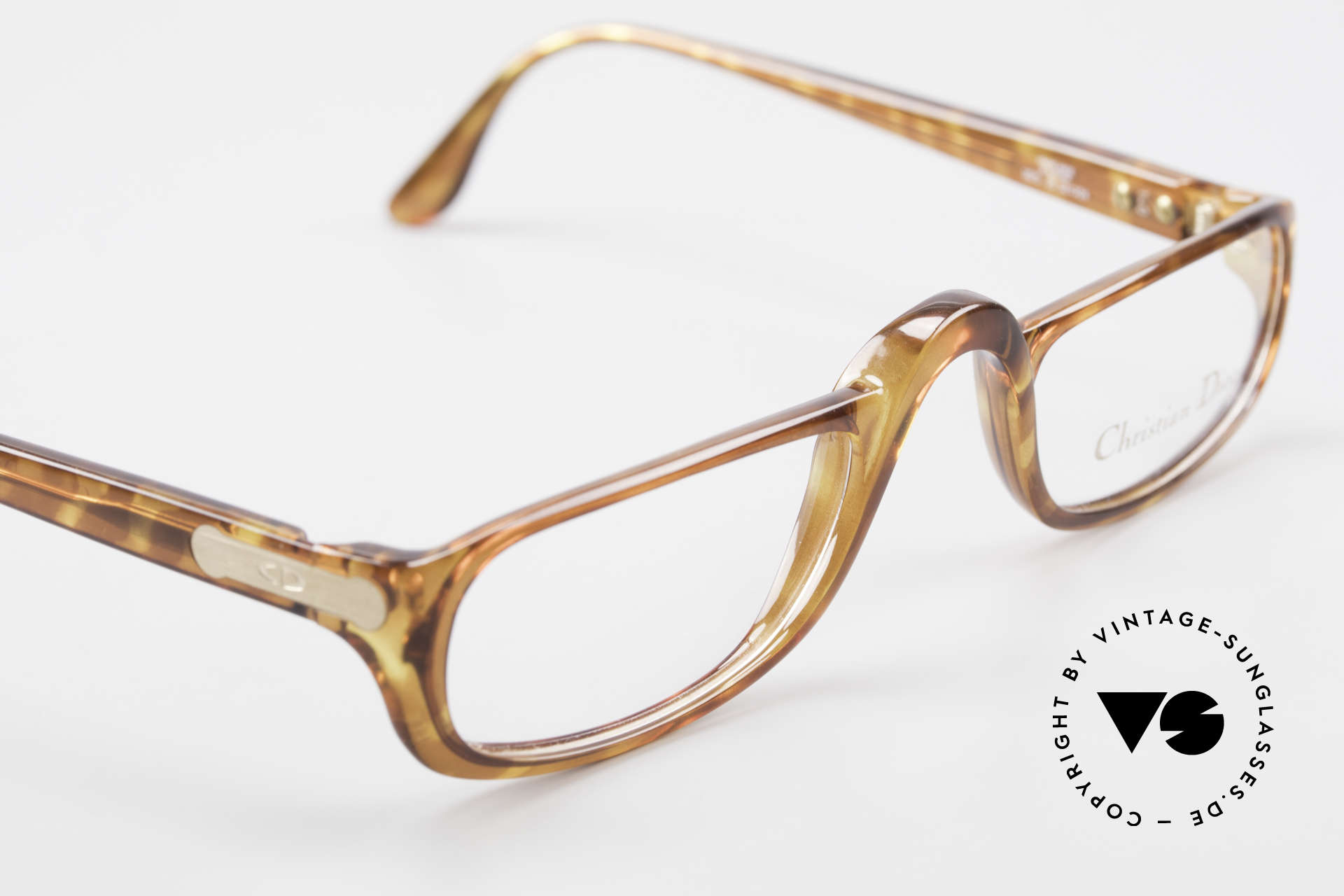 Christian Dior 2075 Reading Glasses Optyl Large, unique frame pattern / coloring; size 52-24 (L size), Made for Men and Women