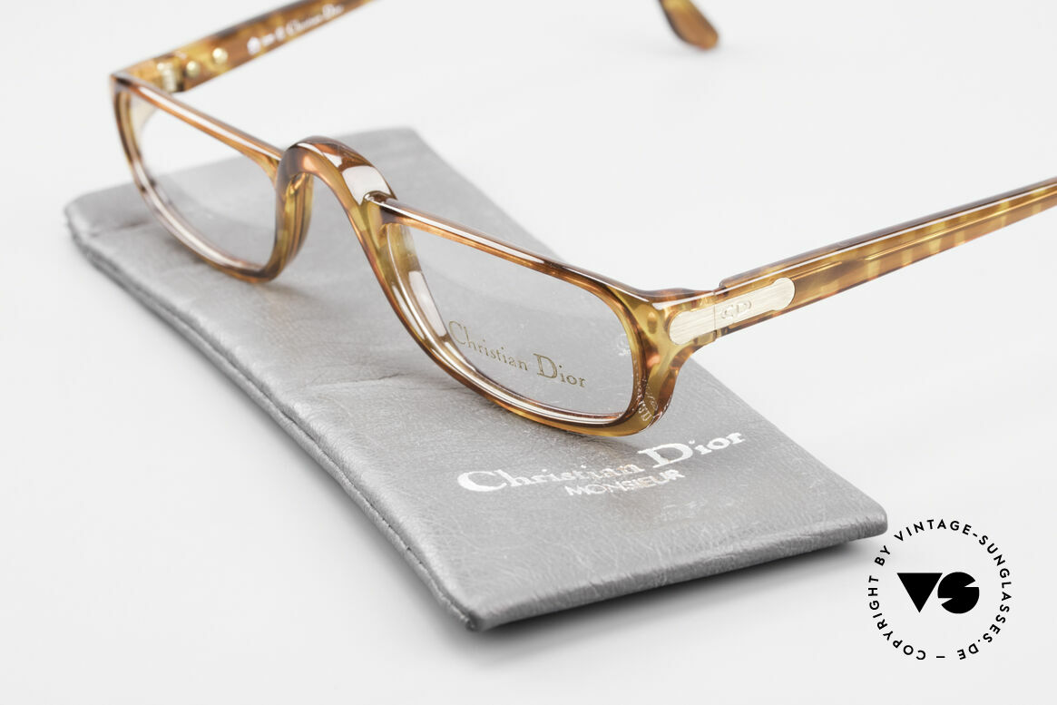 Christian Dior 2075 Reading Glasses Optyl Large, NO RETRO glasses, but a genuine old 1980's product!, Made for Men and Women