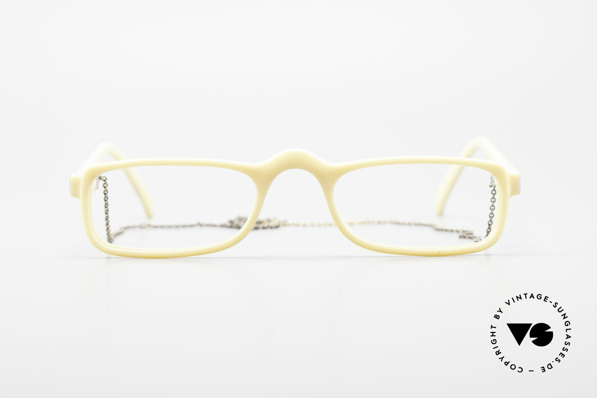 Christian Dior 2356 Reading Glasses With Chain, lightweight half-frame design; ergonomically correct, Made for Men and Women
