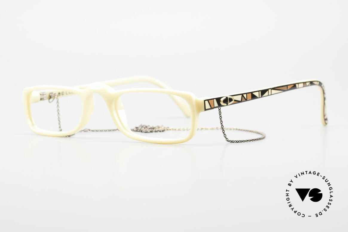 Christian Dior 2356 Reading Glasses With Chain, superior quality, fine materials & durability by Optyl, Made for Men and Women