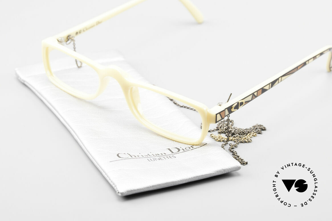 Christian Dior 2356 Reading Glasses With Chain, Size: small, Made for Men and Women