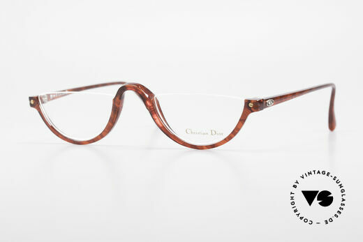 Christian Dior 2586 Reading Glasses Unisex 90's Details