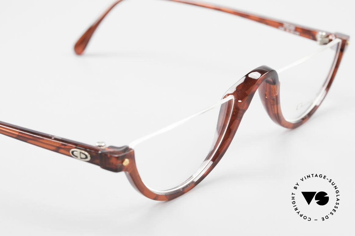 Christian Dior 2586 Reading Glasses Unisex 90's, unique frame pattern / coloring; in LARGE size 49-24, Made for Men and Women