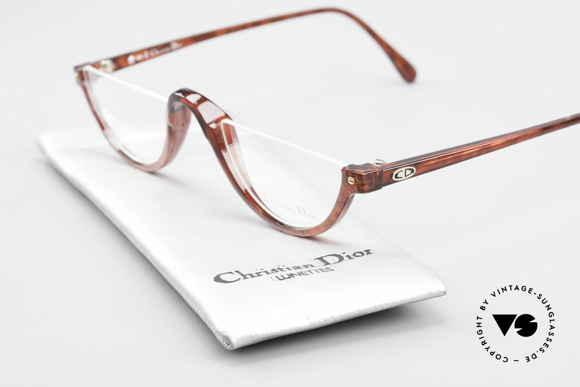 Christian Dior 2586 Reading Glasses Unisex 90's, NO RETRO glasses, but a genuine old 1990's product!, Made for Men and Women