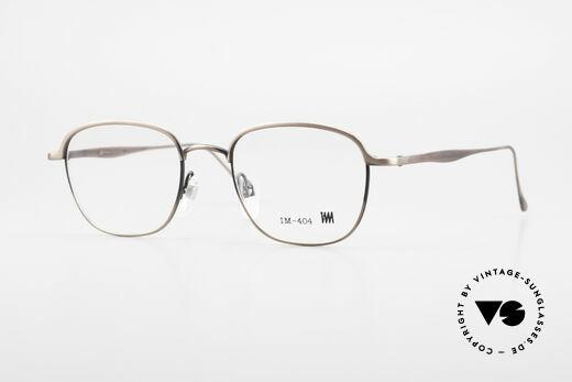 Miyake Design Studio IM404 Connoisseur Eyeglasses 90's Details
