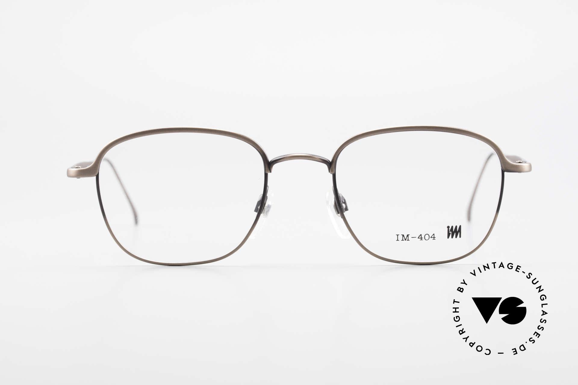 Miyake Design Studio IM404 Connoisseur Eyeglasses 90's, true INSIDER eyeglasses without big branding, Made for Men and Women