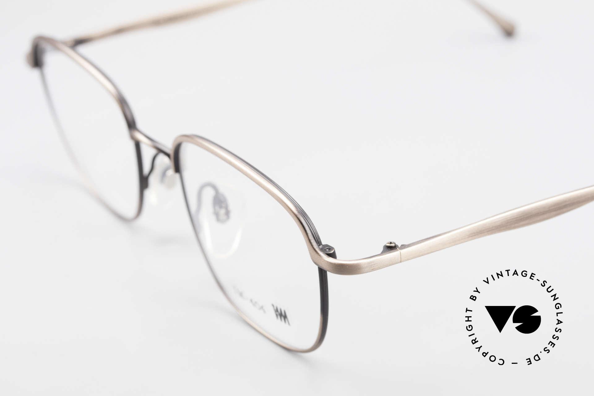 Miyake Design Studio IM404 Connoisseur Eyeglasses 90's, outstanding old craftsmanship (made in Japan), Made for Men and Women