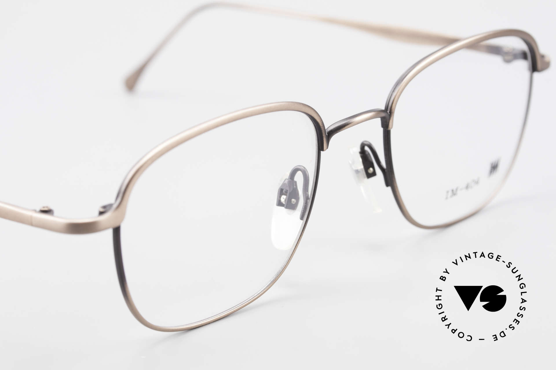 Miyake Design Studio IM404 Connoisseur Eyeglasses 90's, unworn 90's single item; NO RETRO eyeglasses!, Made for Men and Women