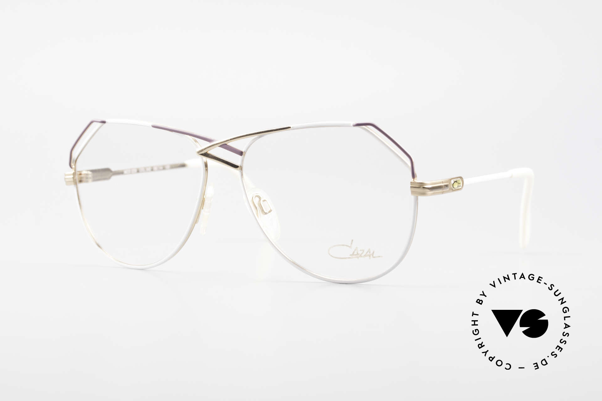 Cazal 229 West Germany Vintage Cazal, amazing CAZAL designer specs from the late 80's, Made for Women