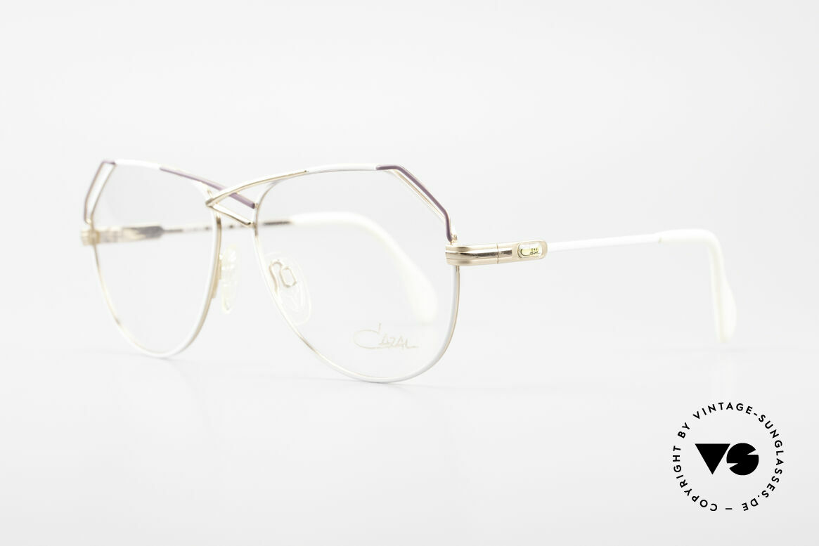 Cazal 229 West Germany Vintage Cazal, great vintage color concept - not seen nowadays, Made for Women