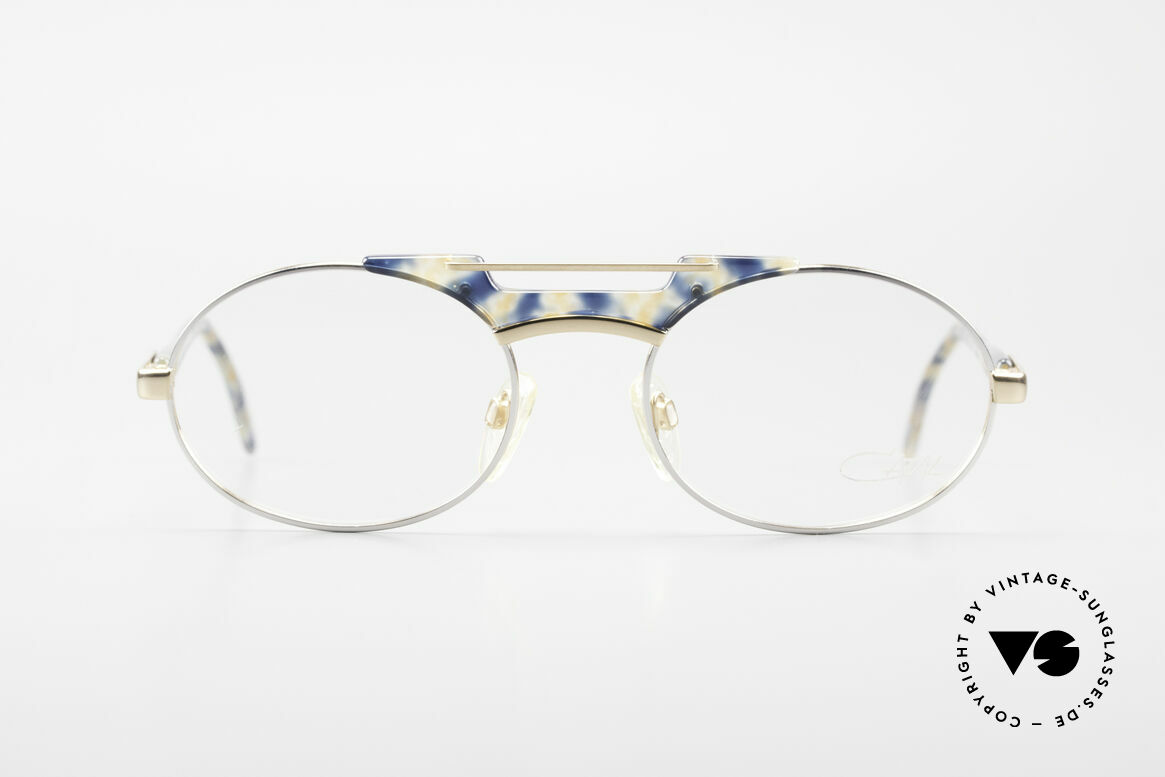 Cazal 749 Oval Designer Eyeglasses 90s, 1st class craftsmanship & very pleasant to wear, Made for Men and Women