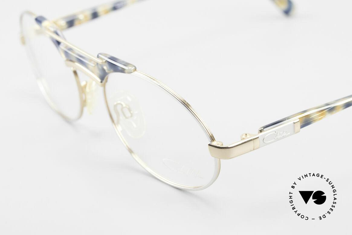 Cazal 749 Oval Designer Eyeglasses 90s, never worn (like all our vintage CAZAL rarities), Made for Men and Women