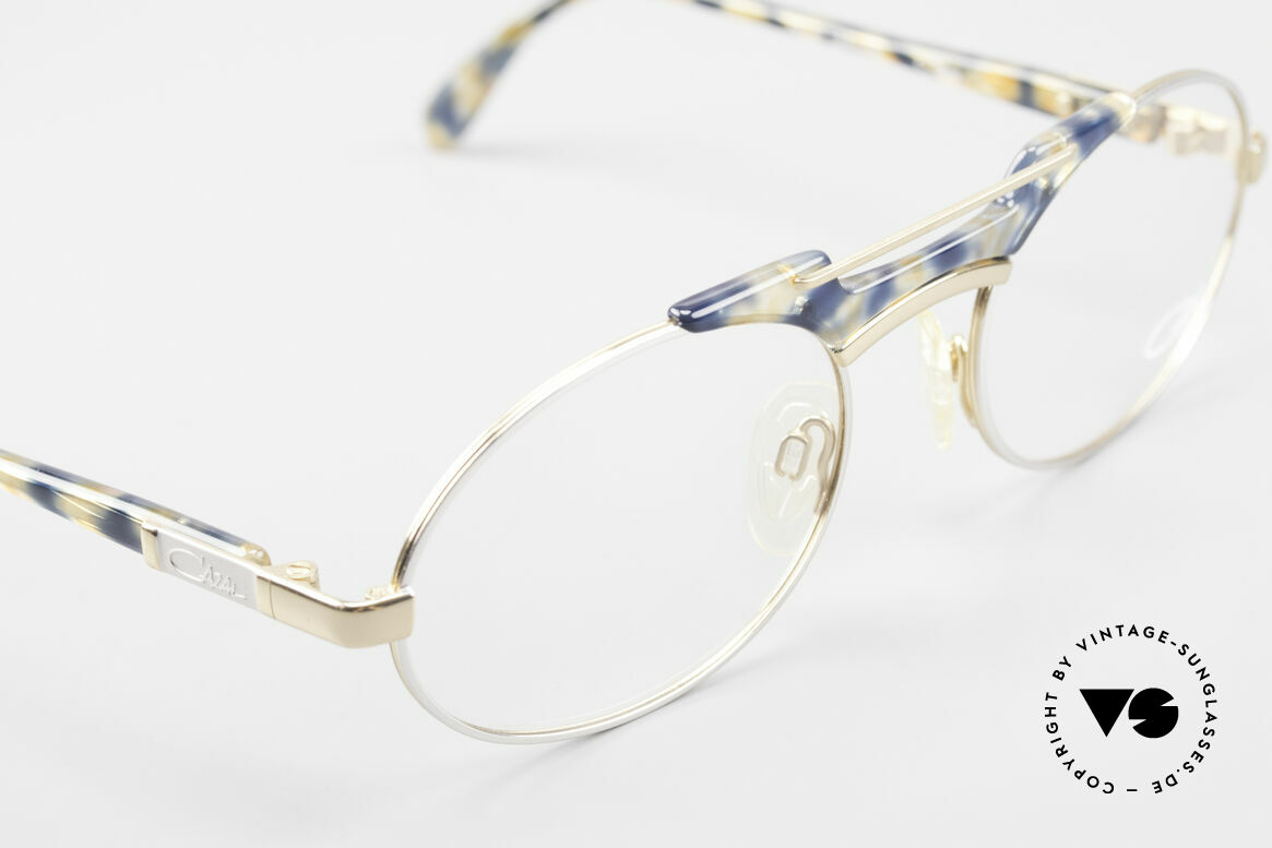 Cazal 749 Oval Designer Eyeglasses 90s, NO RETRO specs, but a 25 years old ORIGINAL!, Made for Men and Women
