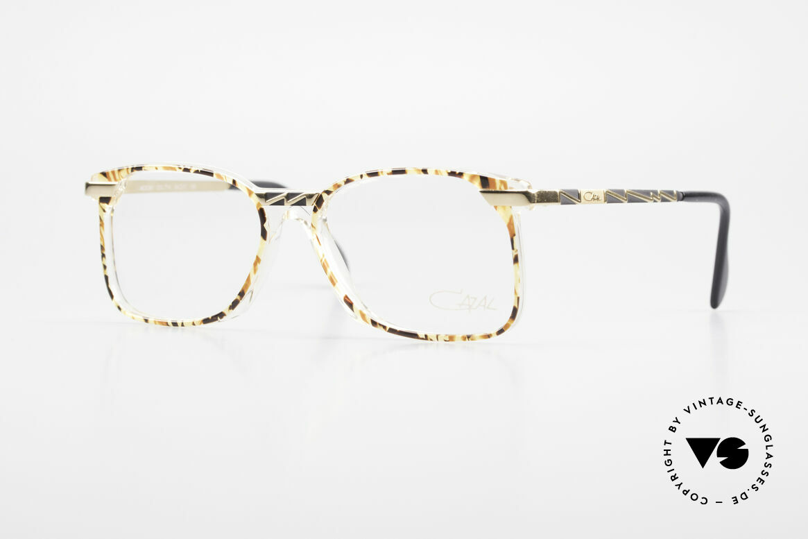 Cazal 341 True Vintage Glasses No Retro, creative eyewear design by Cazal (from around 1990), Made for Men and Women