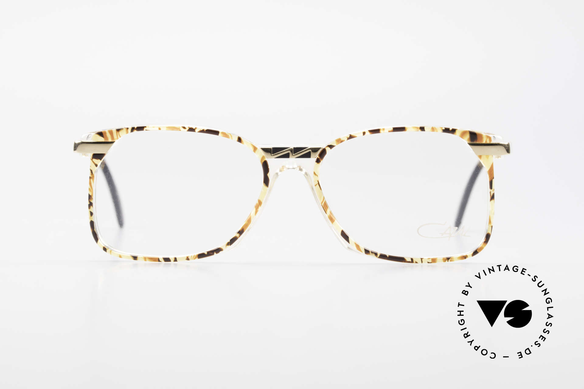 Cazal 341 True Vintage Glasses No Retro, great combination of transparency, color and metal, Made for Men and Women