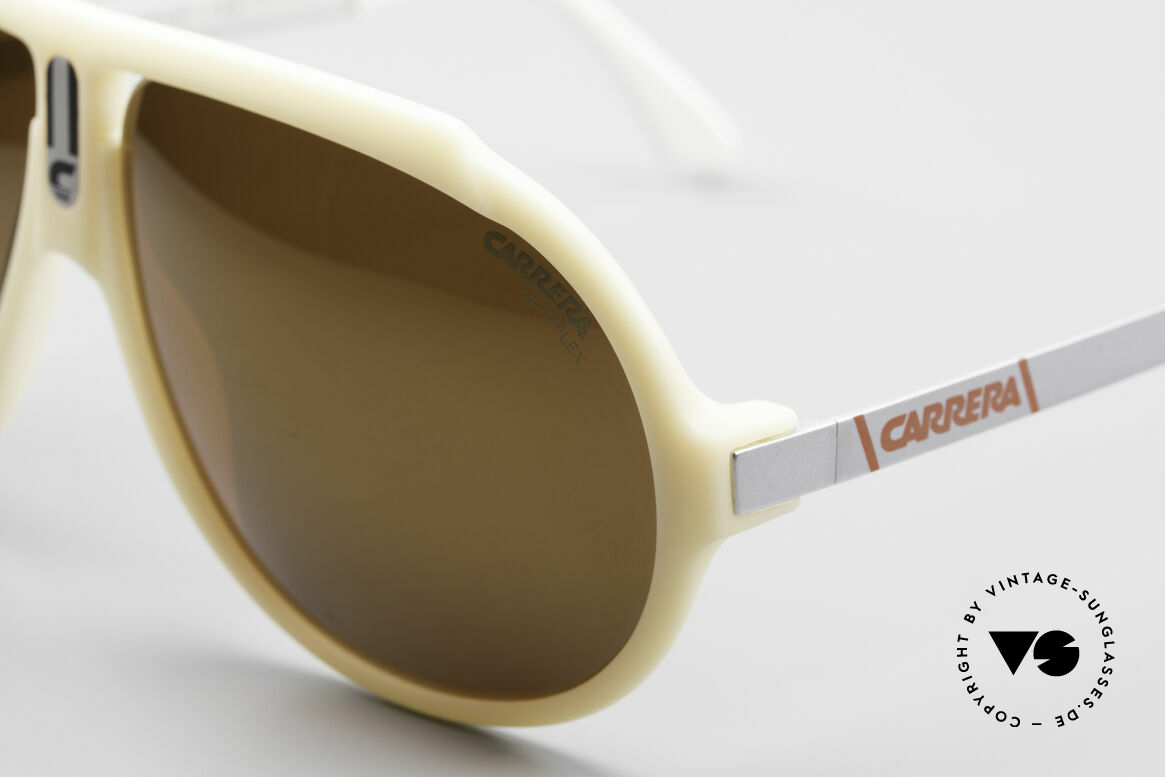 Carrera 5512 Miami Vice Shades Don Johnson, unworn rarity with GOLD MIRRORED C-REFLEX lenses, Made for Men