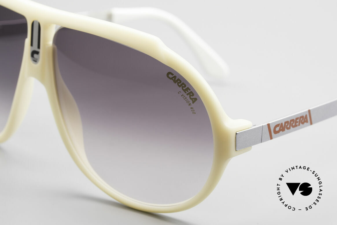 Carrera 5512 Don Johnson Sunglasses 80's, unworn rarity with high-end Carrera C-VISION 400 lenses, Made for Men
