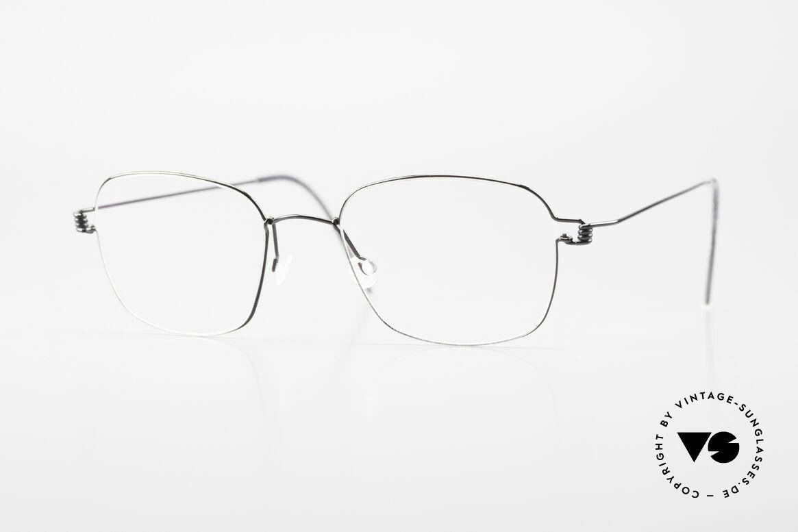 Lindberg Santi Air Titan Rim Classic Titanium Frame Men, LINDBERG Air Titanium Rim eyeglasses in size 47-18, Made for Men