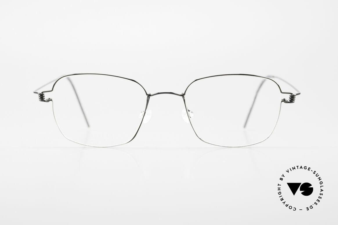 Lindberg Santi Air Titan Rim Classic Titanium Frame Men, distinctive quality and design (award-winning frame), Made for Men