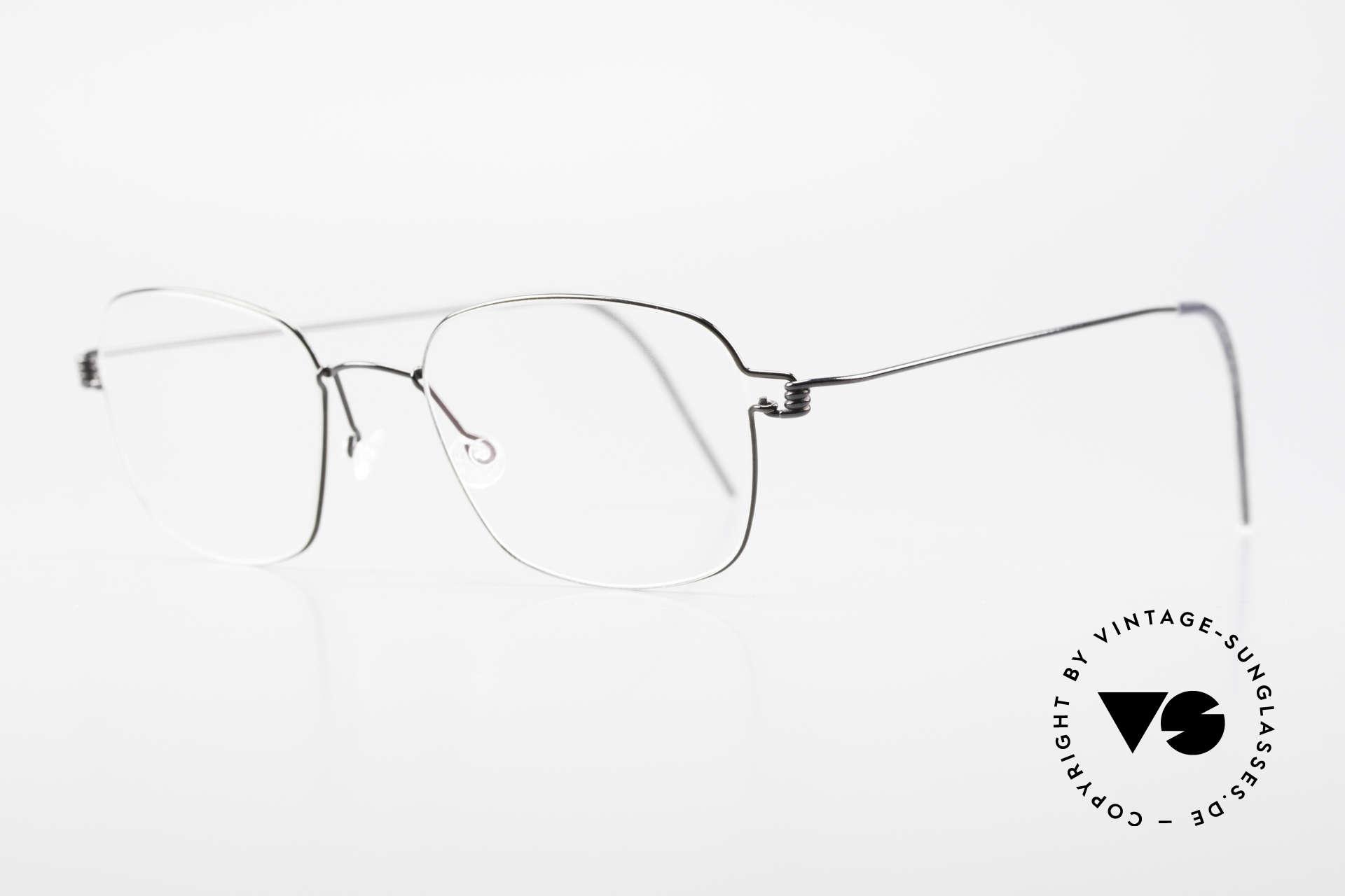 Lindberg Santi Air Titan Rim Classic Titanium Frame Men, simply timeless, stylish & innovative: grade 'vintage', Made for Men