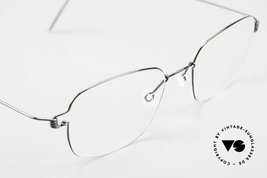 Lindberg Santi Air Titan Rim Classic Titanium Frame Men, simple & strong frame: free from screws, rivets & welds, Made for Men