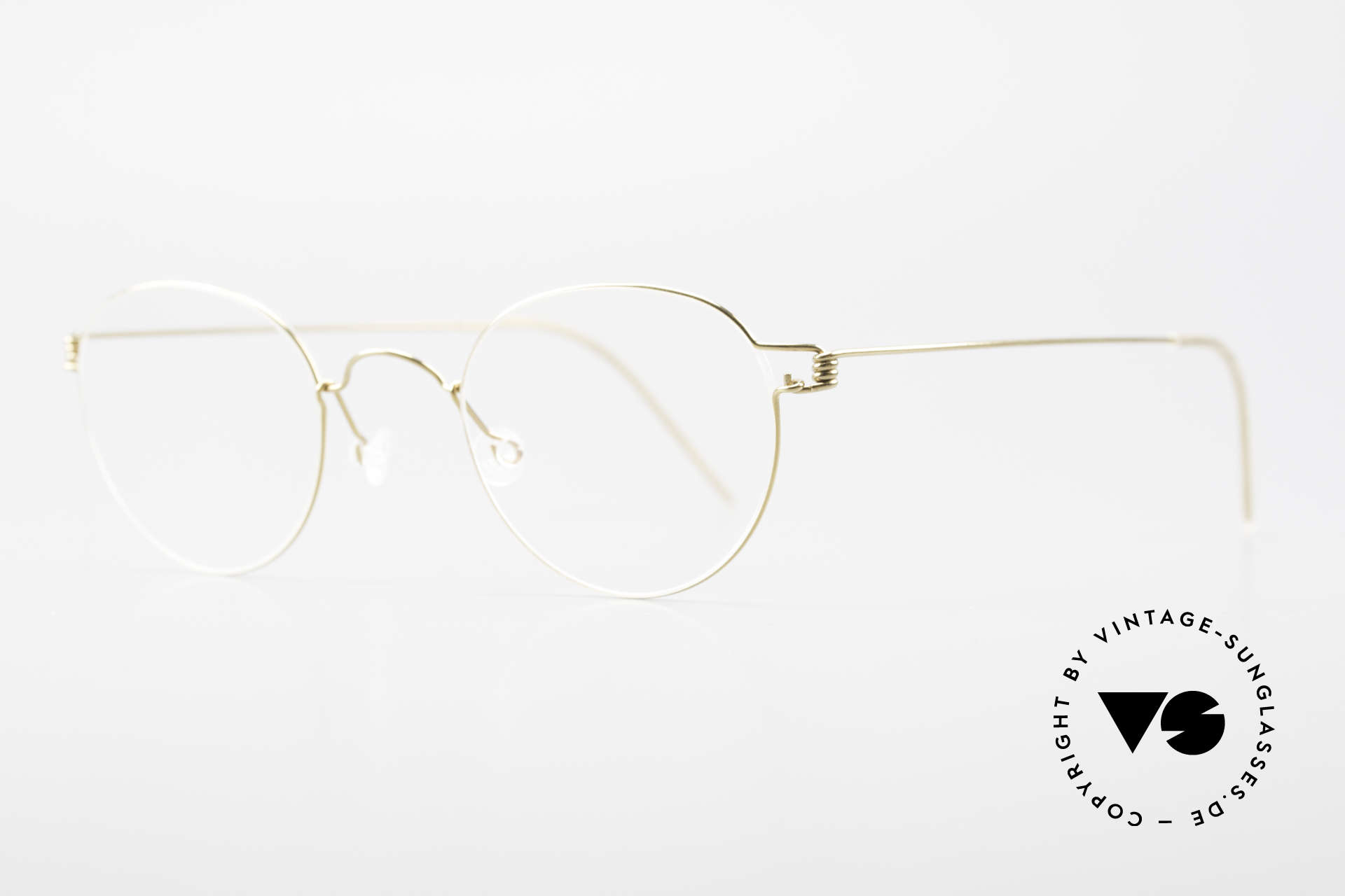 Lindberg Matt Air Titan Rim Panto Titanium Frame Unisex, simply timeless, stylish & innovative: grade 'vintage', Made for Men and Women