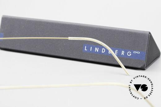 Lindberg Matt Air Titan Rim Panto Titanium Frame Unisex, Size: small, Made for Men and Women