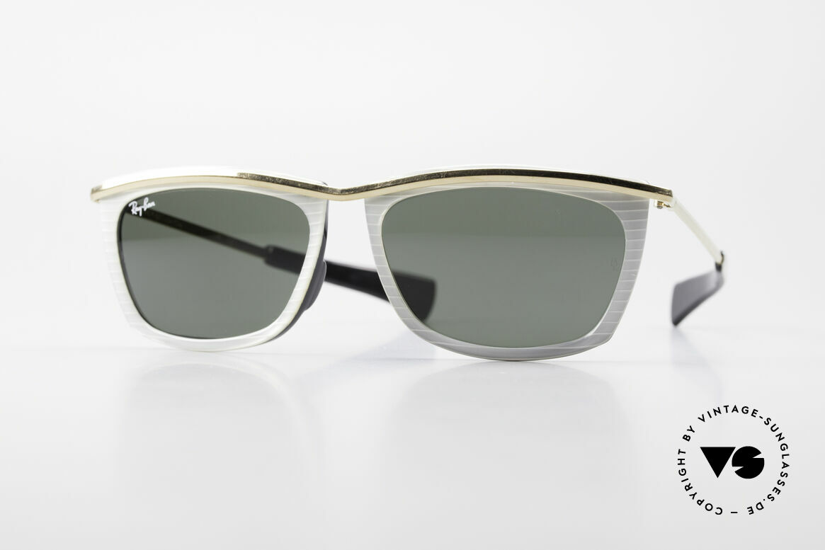 Ray Ban Olympian II B&L Ray-Ban Sunglasses USA, unisex model of the Ray Ban Olympian Collection, Made for Men and Women