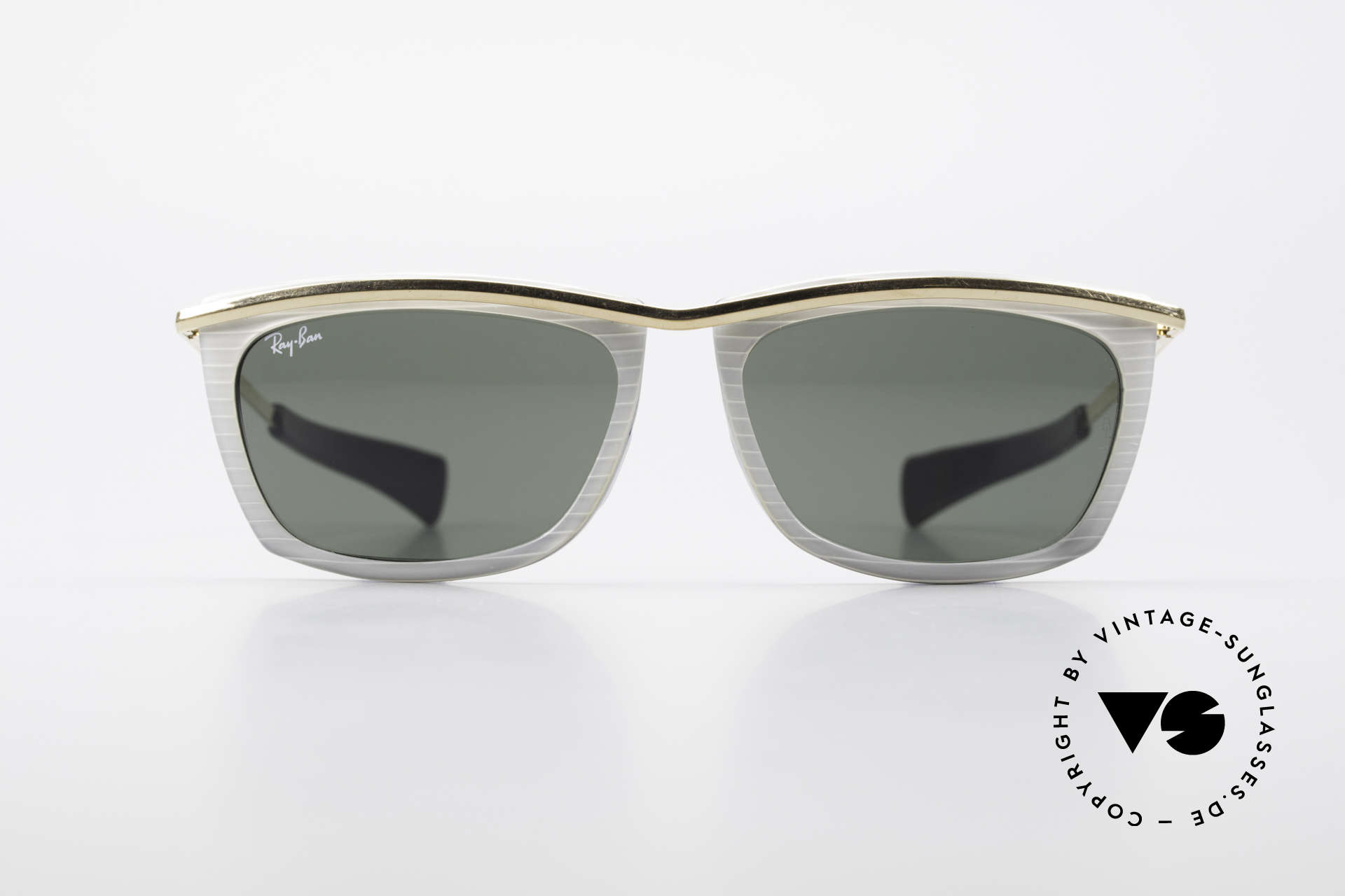 Ray Ban Olympian II B&L Ray-Ban Sunglasses USA, designer sunglasses of the 1980's by Ray Ban, USA, Made for Men and Women