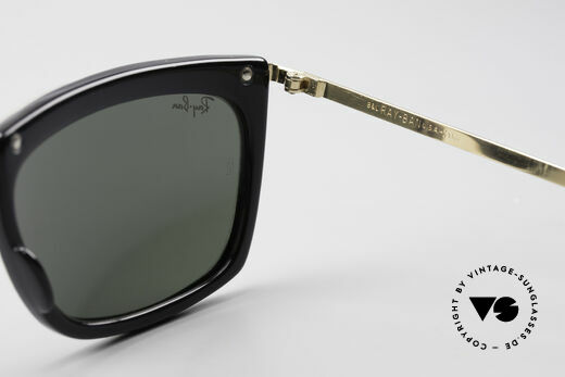 Ray Ban Olympian II B&L Ray-Ban Sunglasses USA, rare LIMITED EDITION in white pearl / black / gold, Made for Men and Women