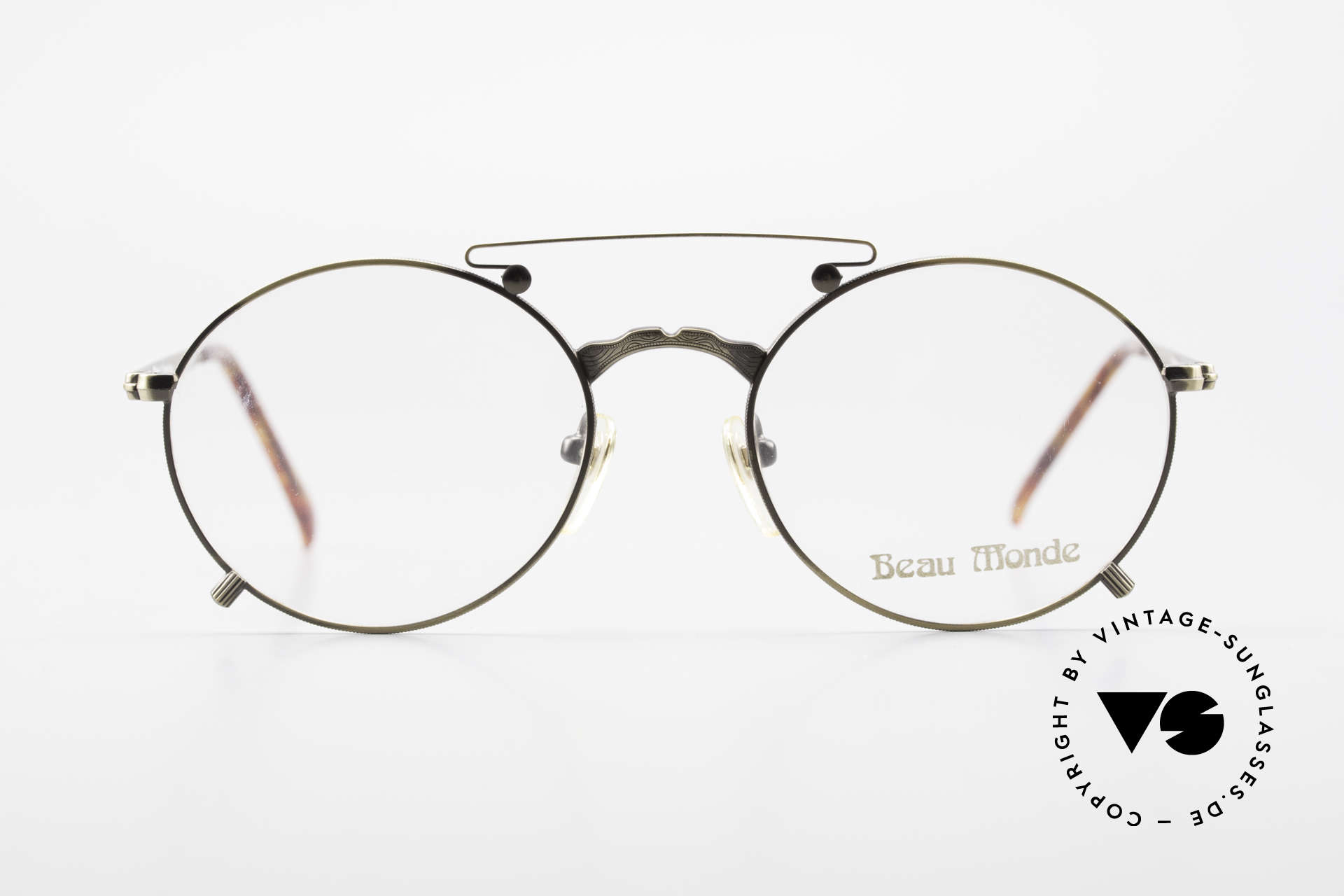 """Beau Monde Knightsbridge Old Vintage Frame 90's Insider, French name says it all """"Beau Monde"""" = beautiful world, Made for Men and Women"""