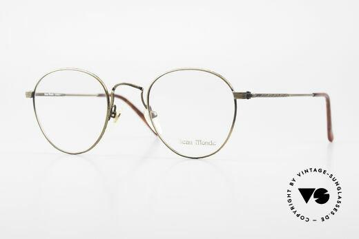 Beau Monde Sterling Old Vintage Frame 90's Panto Details