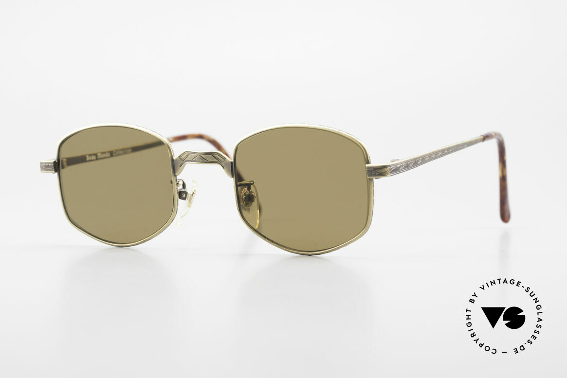 Beau Monde Dover Old 90's Insider Sunglasses, interesting old vintage glasses of the late 80s/early 90s, Made for Men and Women