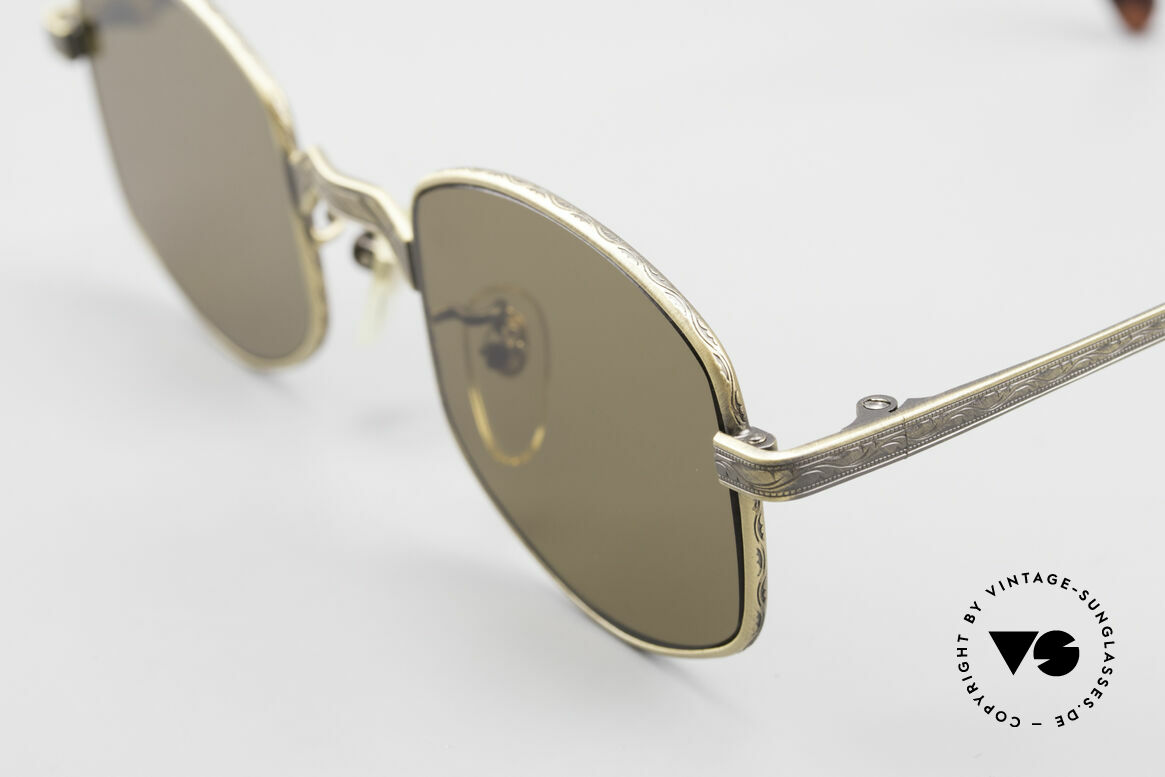Beau Monde Dover Old 90's Insider Sunglasses, made with attention to details (check all the engravings), Made for Men and Women