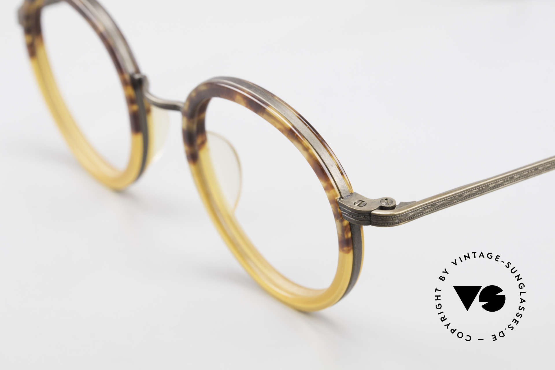 Beau Monde Rhodes Round Old Vintage Frame 90's, manufactured with the same tools like Matsuda (Japan), Made for Men and Women